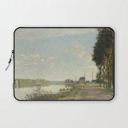Claude Monet Argenteuil c. 1872 Painting Laptop Sleeve