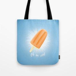 Oh So Cool - Orange Tote Bag