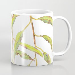 Flowering eucalyptus tree branch Coffee Mug