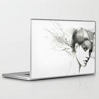 marina Laptop & iPad Skins featuring Marina by Veronica Cosimetti Art