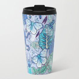 Frozen bugs in the garden Travel Mug