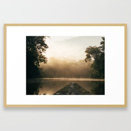 Amazonas view Framed Art Print