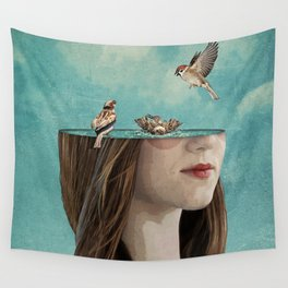 bathers Wall Tapestry