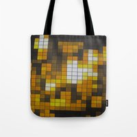 chandelier Tote Bags featuring Chandelier by Hayley Q. Drewyor