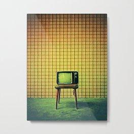 Tv Metal Print