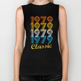 38th Birthday Gift Vintage 1979 T-Shirt for Men & Women T-Shirts and Hoodies Biker Tank