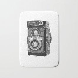 Yashica Vintage Camera Bath Mat