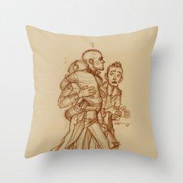 Yondu, Peter & Kraglin Throw Pillow