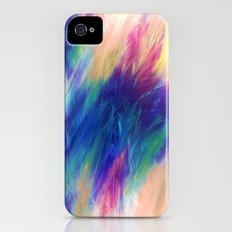 Paint Feathers in the Sky Slim Case iPhone (4, 4s)