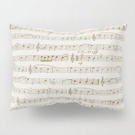 Sheet Music Pillow Sham
