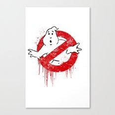 GhostGraffiti Canvas Print
