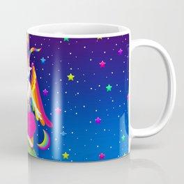 1997 Neon Rainbow Baphomet Coffee Mug