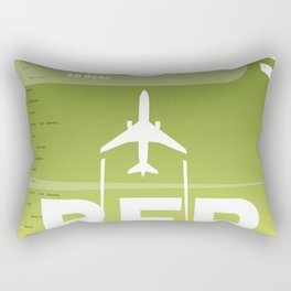 BER BERLIN AIRPORT CODE Rectangular Pillow