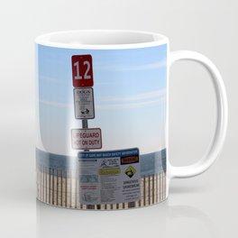 Beach Closed Coffee Mug
