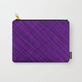 Fluttering ornament of their violet threads and dark intersecting fibers. Carry-All Pouch