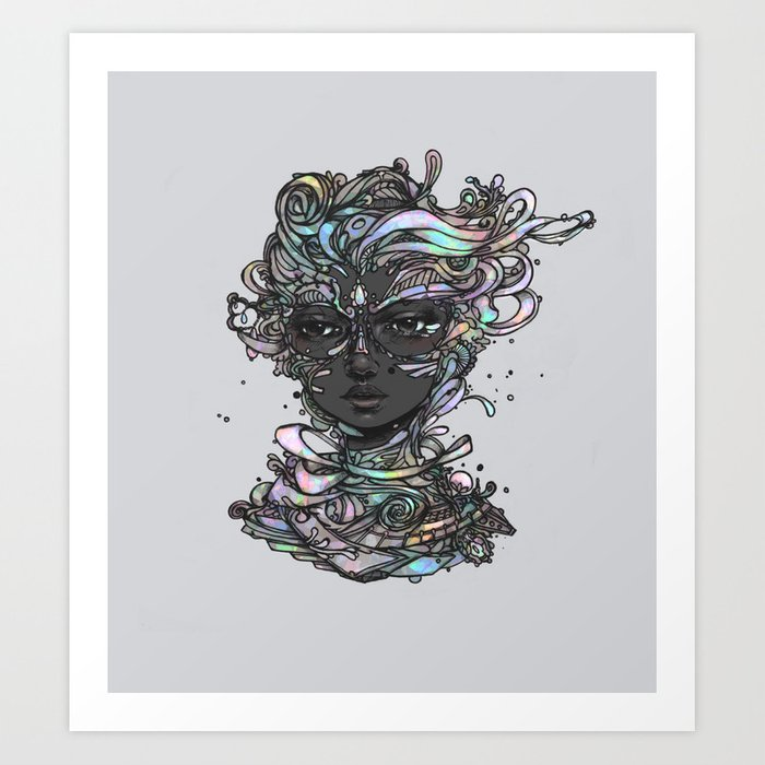 Interplay of Color Art Print