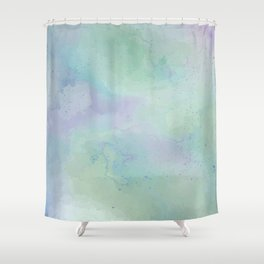 Lacuna Watercolour Sky Shower Curtain