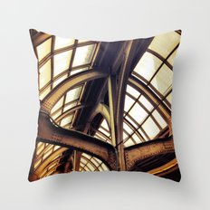 Industrial Architecture II Throw Pillow