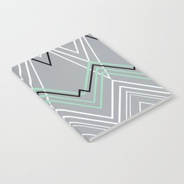Mint Grey Chevy Notebook