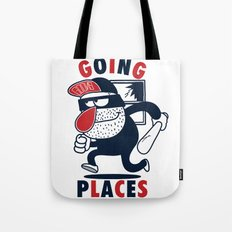 Going Places. Tote Bag
