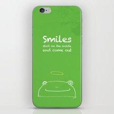Frog Angel iPhone & iPod Skin