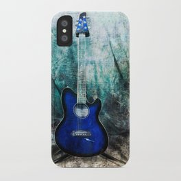 Play Me Some Blues iPhone Case