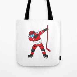 Dabbing Hockey Player Hockey Son Hockey Boy Gift Ice Hockey Tote Bag