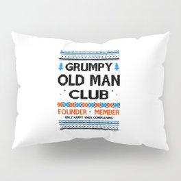 Grumpy Old Man Pillow Sham