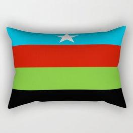 Somali Bantu Liberation Movement Flag Rectangular Pillow