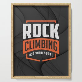 Rock Climbing Serving Tray
