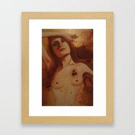 Mourning After Framed Art Print