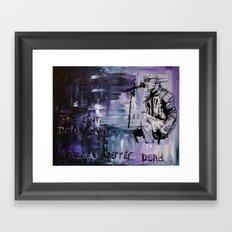 Layne Staley Framed Art Print