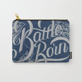 Battle Born - Silver & Blue Carry-All Pouch
