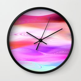 Dunes Collection - Pink Wall Clock