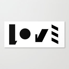 LOVE-symbol Canvas Print