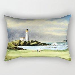 Turnberry Golf Course 10th Green Rectangular Pillow