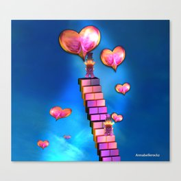 Spread the love Canvas Print