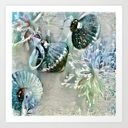 Silver Bells Art Print