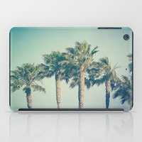 palms iPad Cases featuring Palms by Laura Ruth