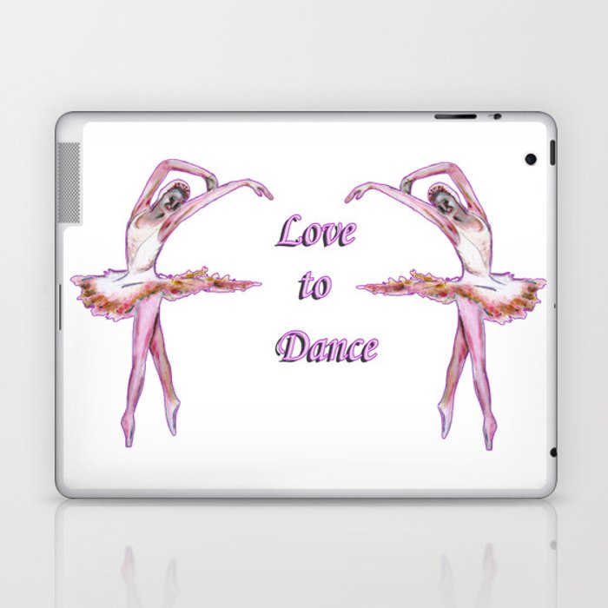 Love to Dance  Laptop & iPad Skin