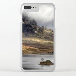 The Storr - Isle of Skye Scotland -  Fine Art Landscape Photograph Clear iPhone Case