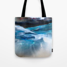 Blue Scape Tote Bag