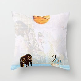 High Noon RendezVous Throw Pillow