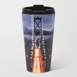 Lions Gate Bridge Travel Mug