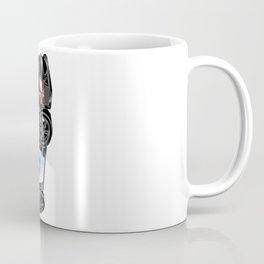 Police Car Illustration Coffee Mug