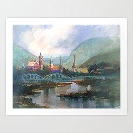 Queen City 2 Art Print