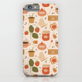 Strawberry Jam iPhone Case