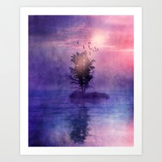 natural feelings (colour option) Art Print
