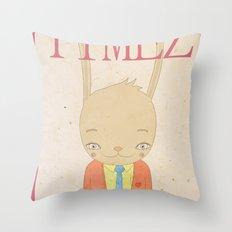 TIMEZ MAGAZINE HUG Throw Pillow