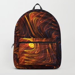 Lava Flow Abstract Backpack